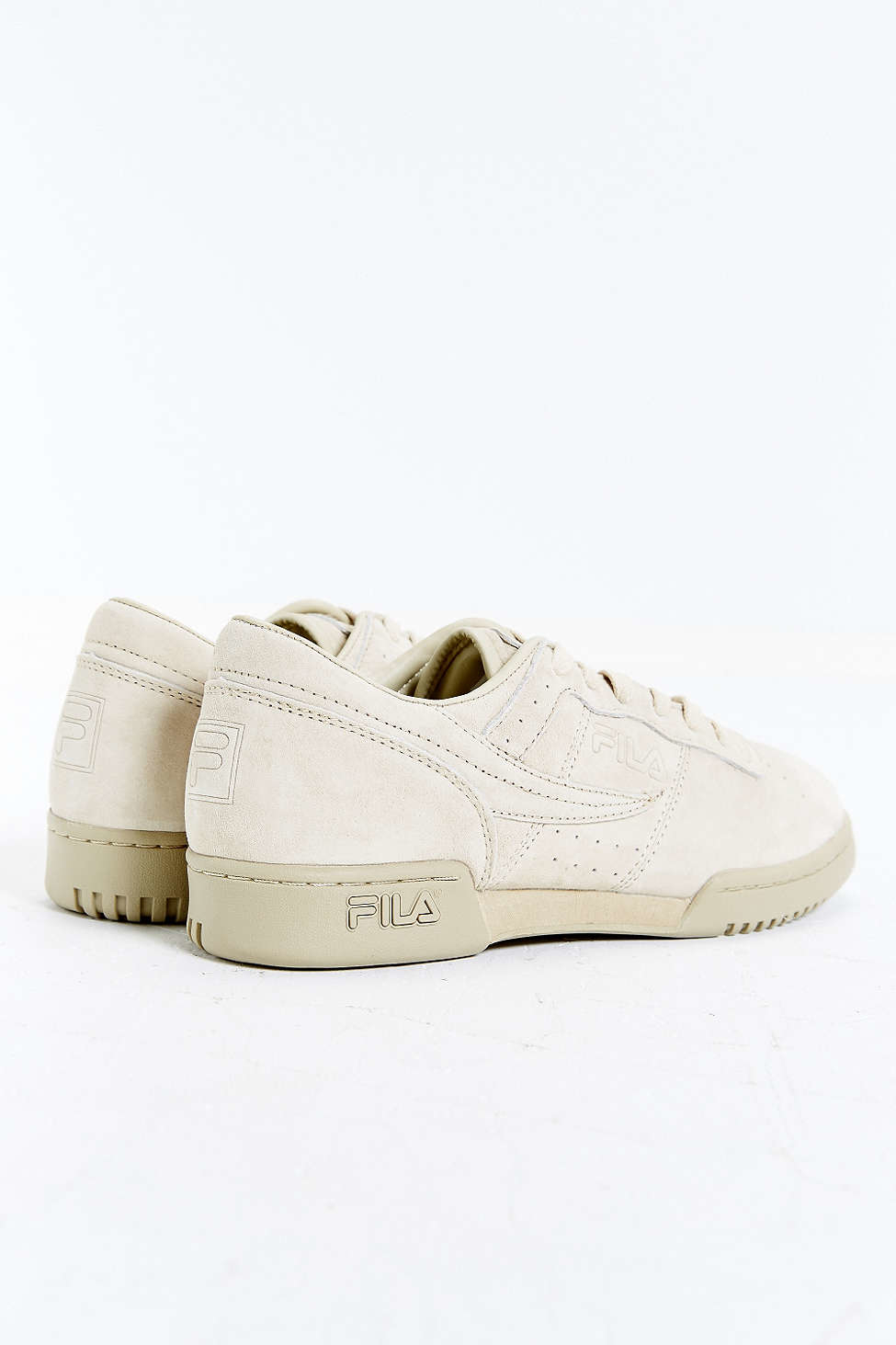 4616beccc3b9 Lyst - Fila Original Fitness Suede Sneaker in Brown for Men