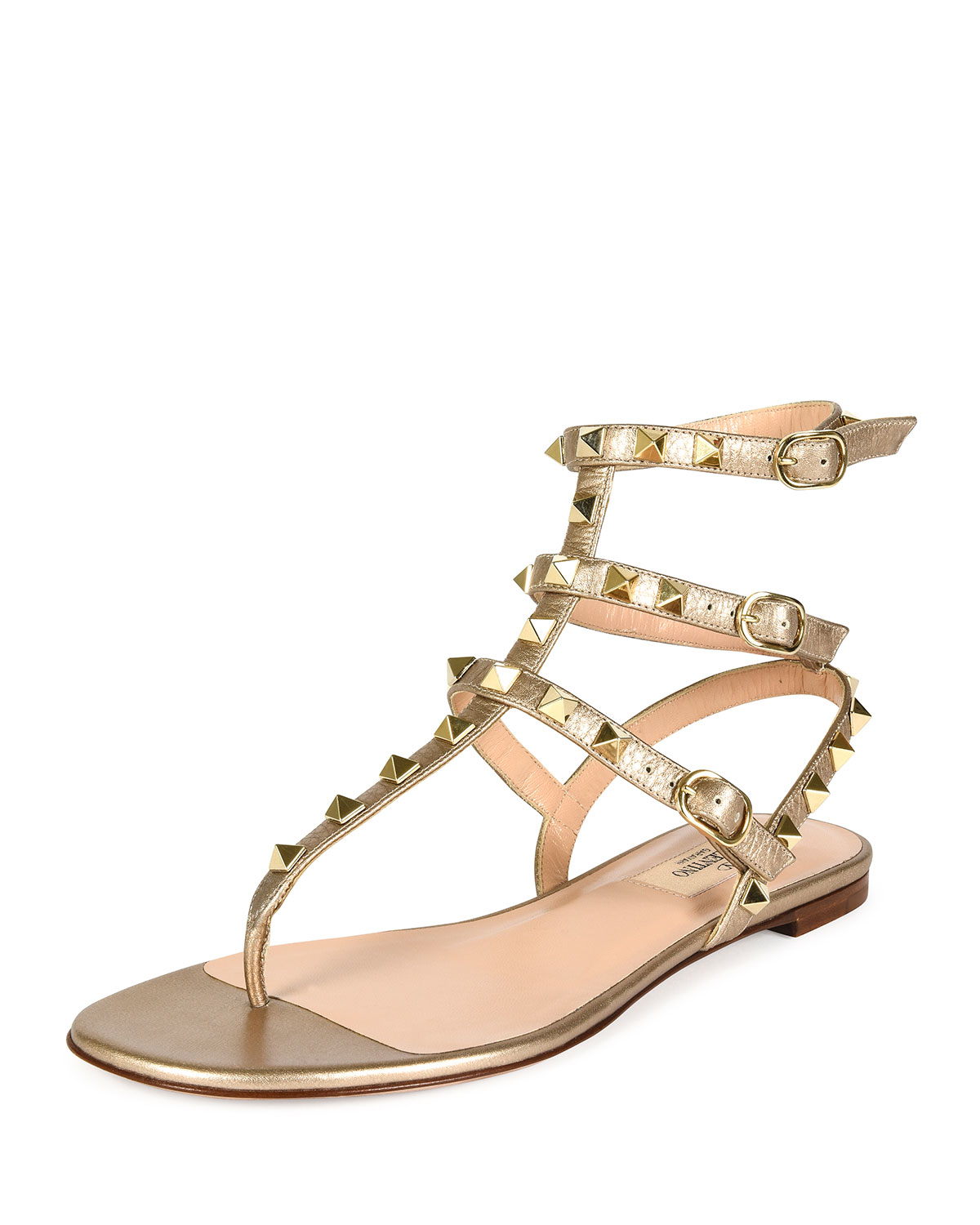 d75a9d4790d Gallery. Previously sold at  Bergdorf Goodman · Women s Gladiator Sandals  Women s Valentino ...