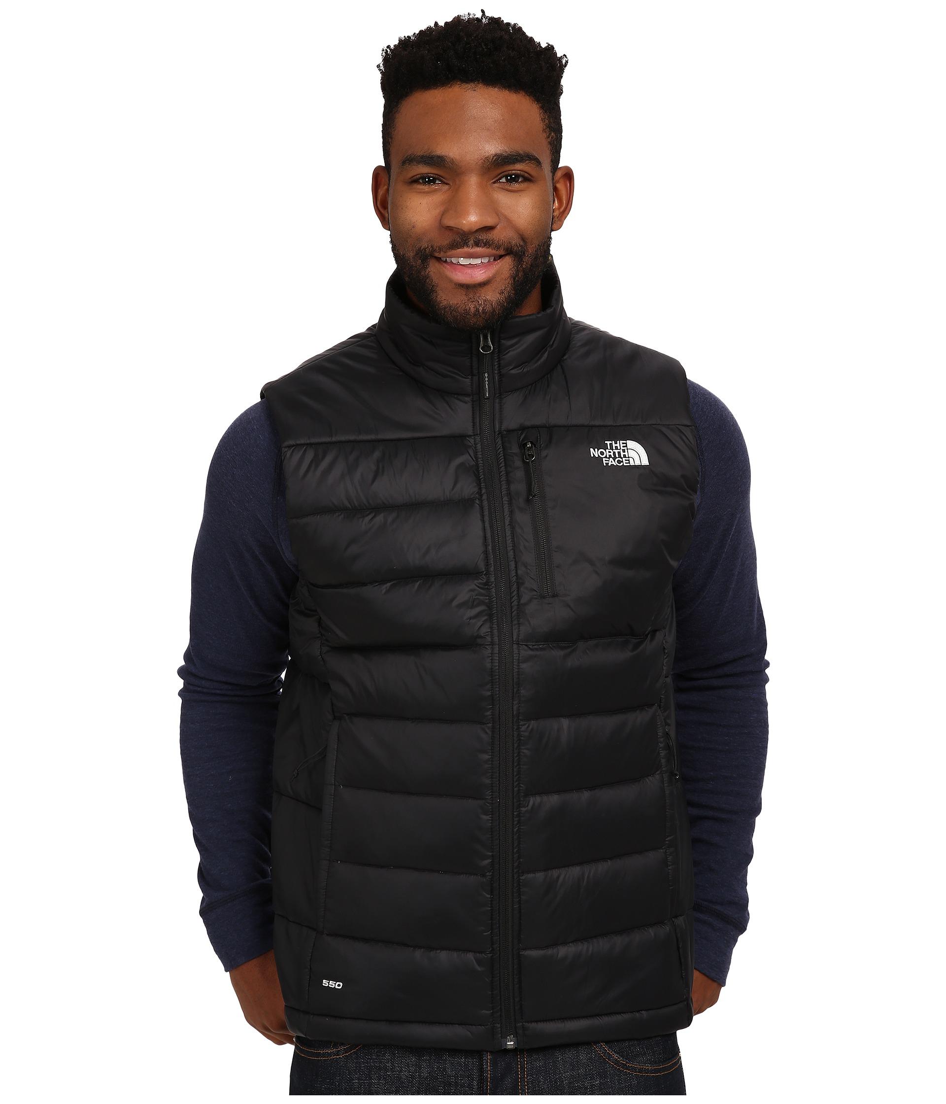Lyst The North Face Aconcagua Vest In Black For Men