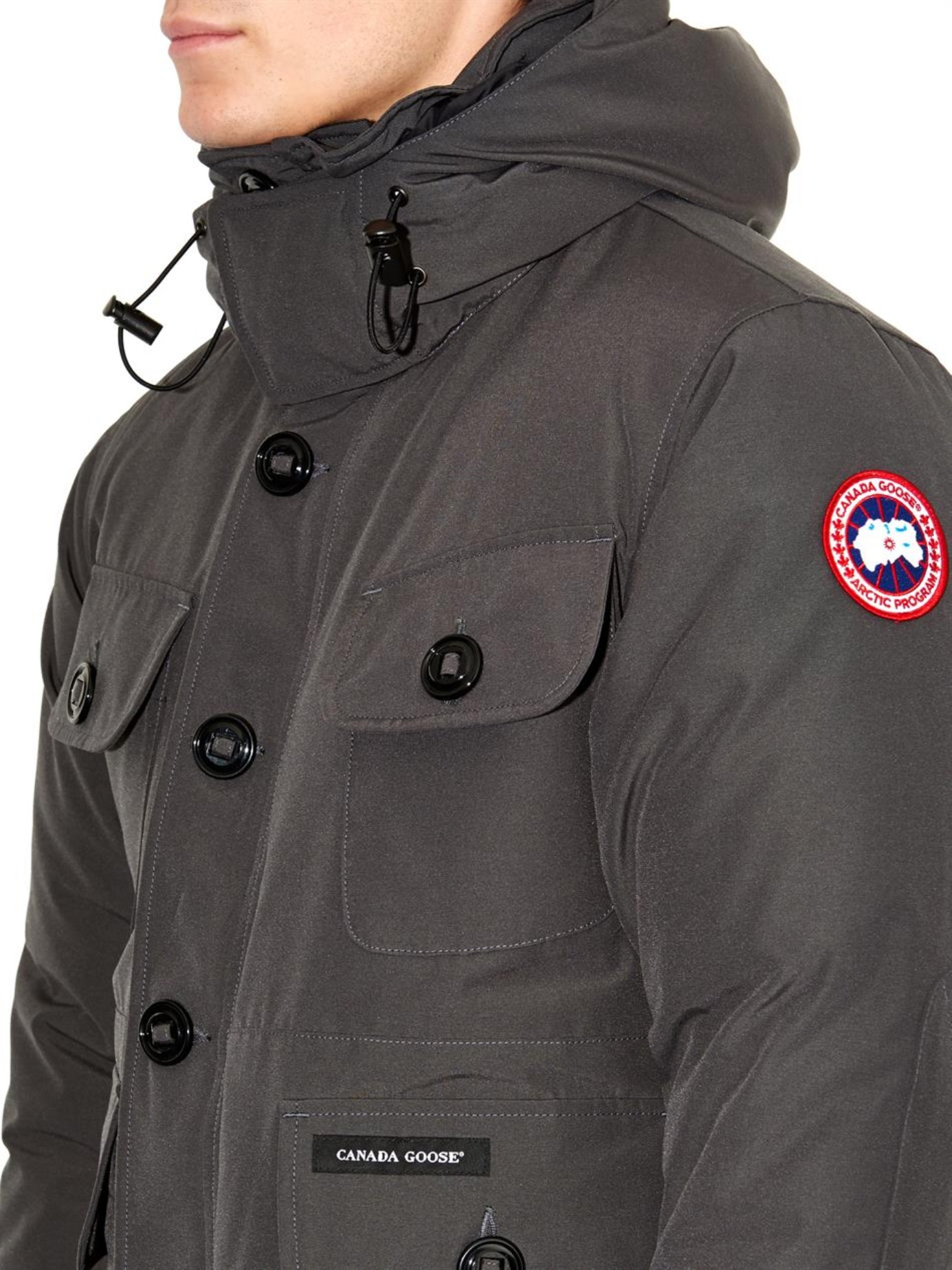 Canada goose Selkirk Down Parka in Gray for Men (CHARCOAL) | Lyst