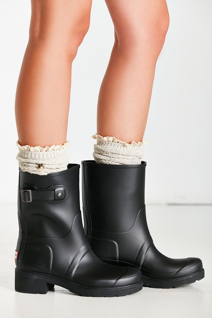 Lyst Hunter Original Ankle Boot In Black