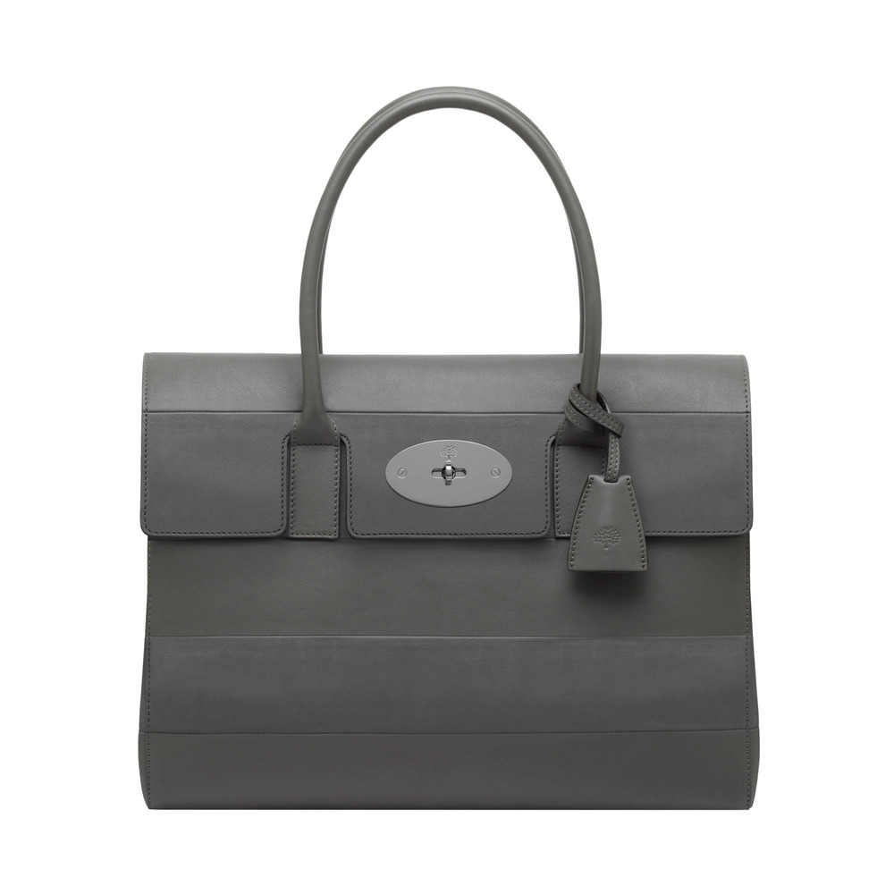 5330fc3b23 Lyst - Mulberry Bayswater in Gray