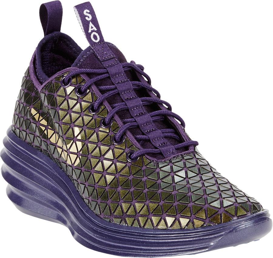 Nike Lunar Elite Sky Hi Fw Qs Sao Paulo Sneakers in Purple - Lyst 3e20da061