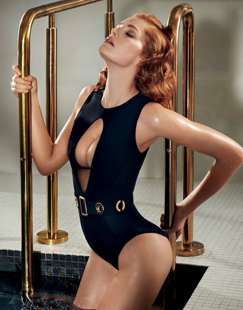 01953d1151 Lyst - Agent Provocateur Remmi Swimsuit Black gold in Black