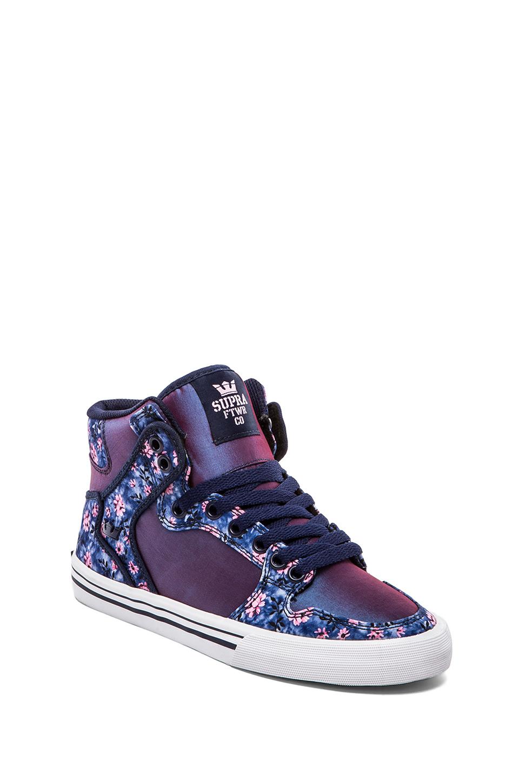 c13c3a8838a2 Lyst - Supra Vaider Sneaker in Purple