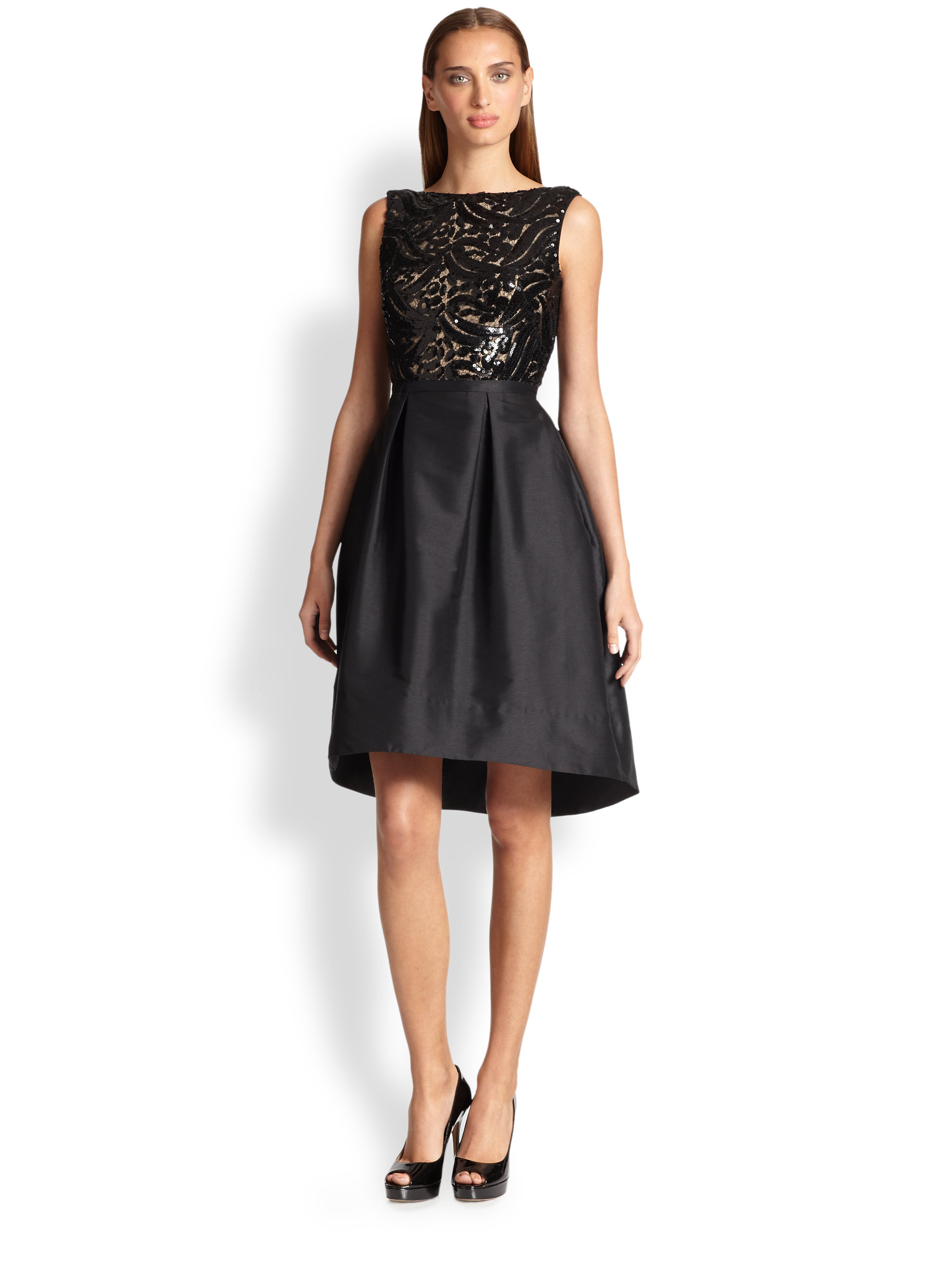 Monique Lhuillier Black Dress | Weddings Dresses