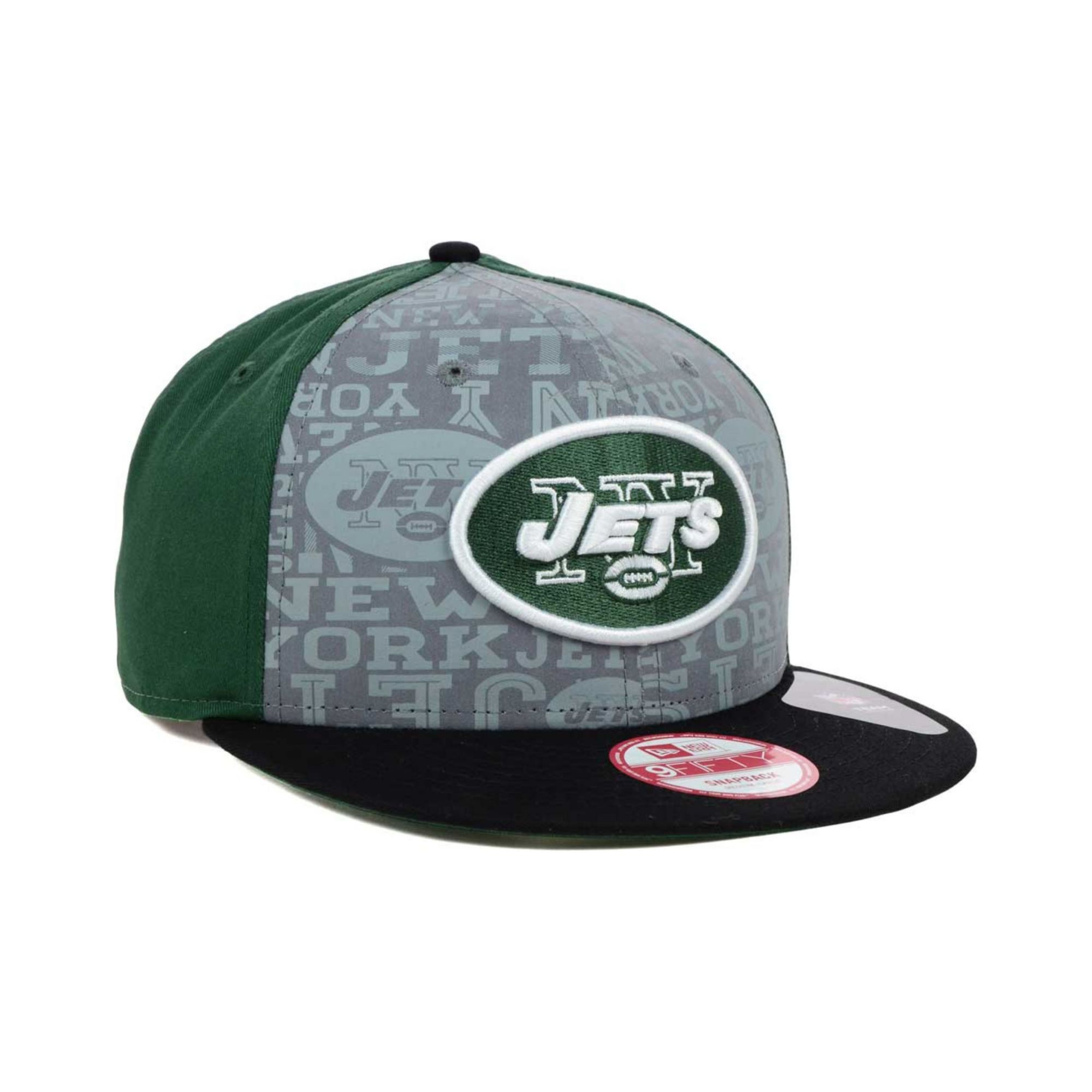 ... get lyst ktz new york jets nfl draft 9fifty snapback cap in green for  men 6fa6f 84cdab427