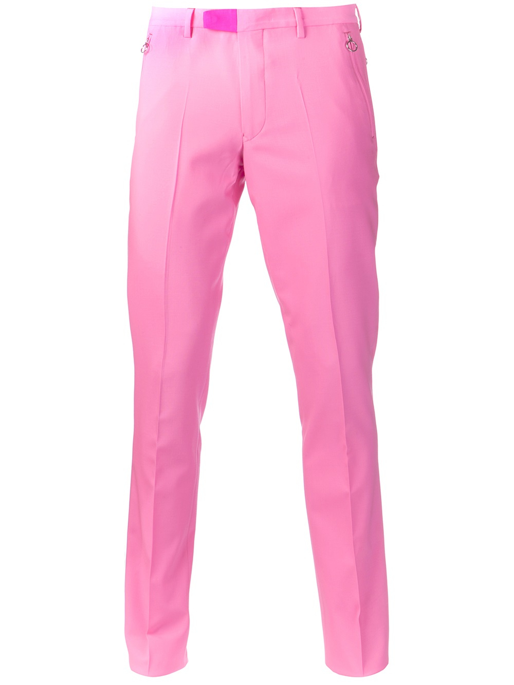paul smith suit trousers in pink for men lyst