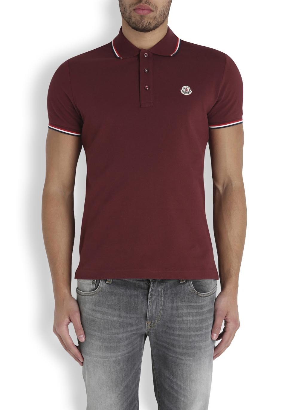 moncler polo shirt fake