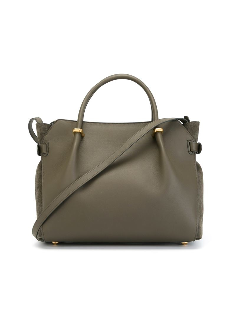 Lyst Nina Ricci Medium March 233 Tote In Green