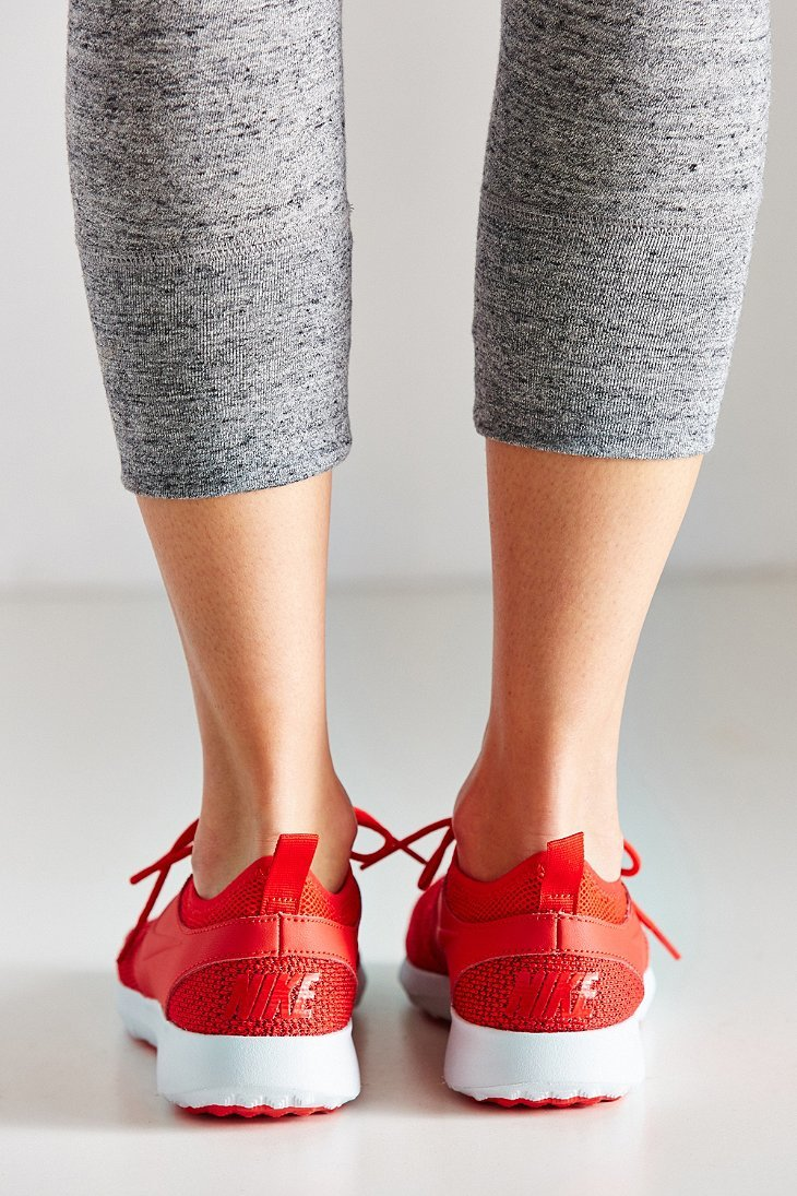 innovative design 7fd24 87349 ... coupon code for lyst nike womens juvenate textile sneaker in red 8b540  bf929