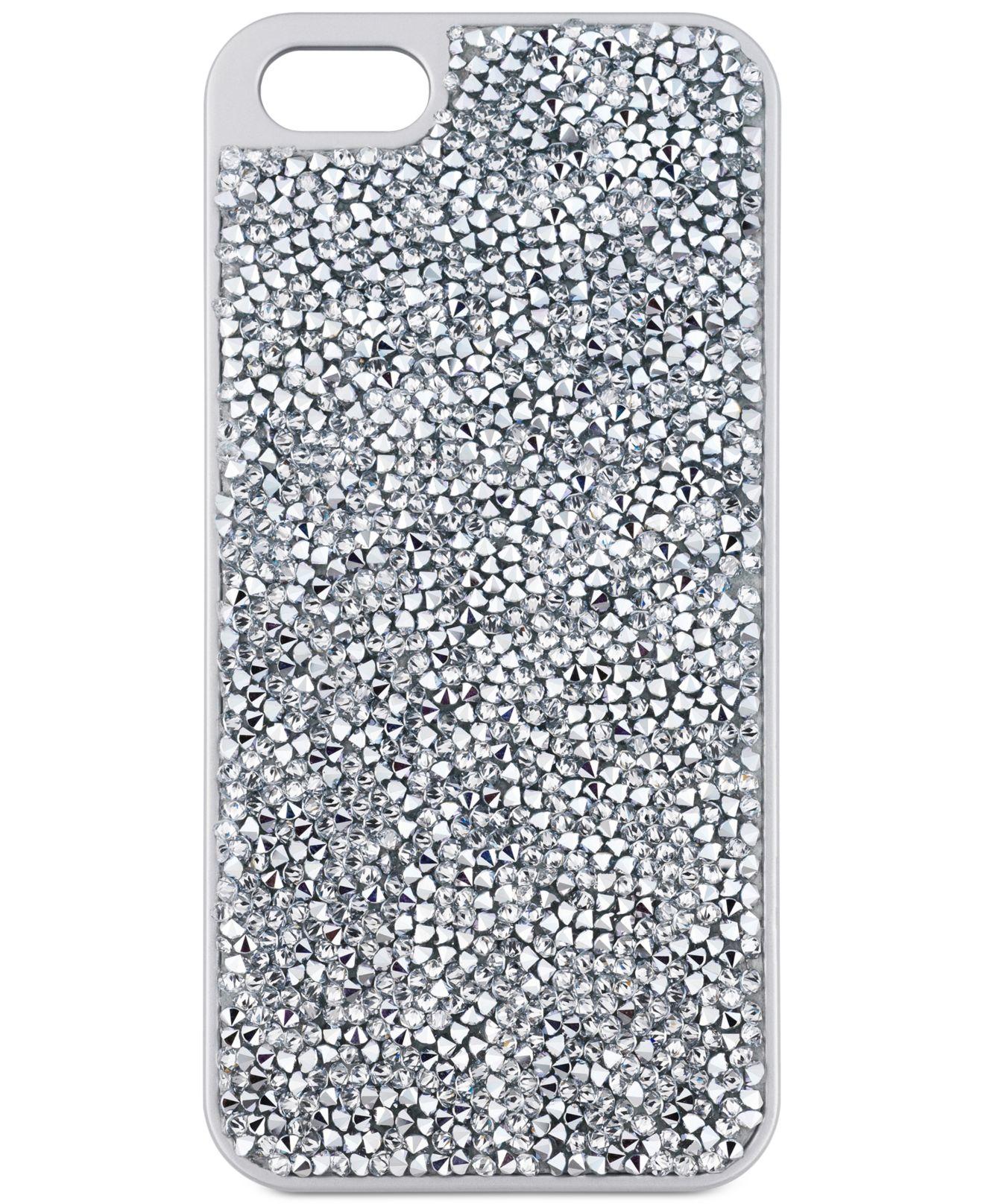 Lyst - Swarovski Silver-tone Glam Rock Iphone 6 Case in Metallic 50592c0f9c