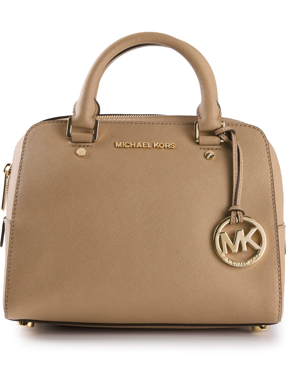 47972067ce8f ... where to buy lyst michael michael kors small tote bag in brown 406e3  4d7e5