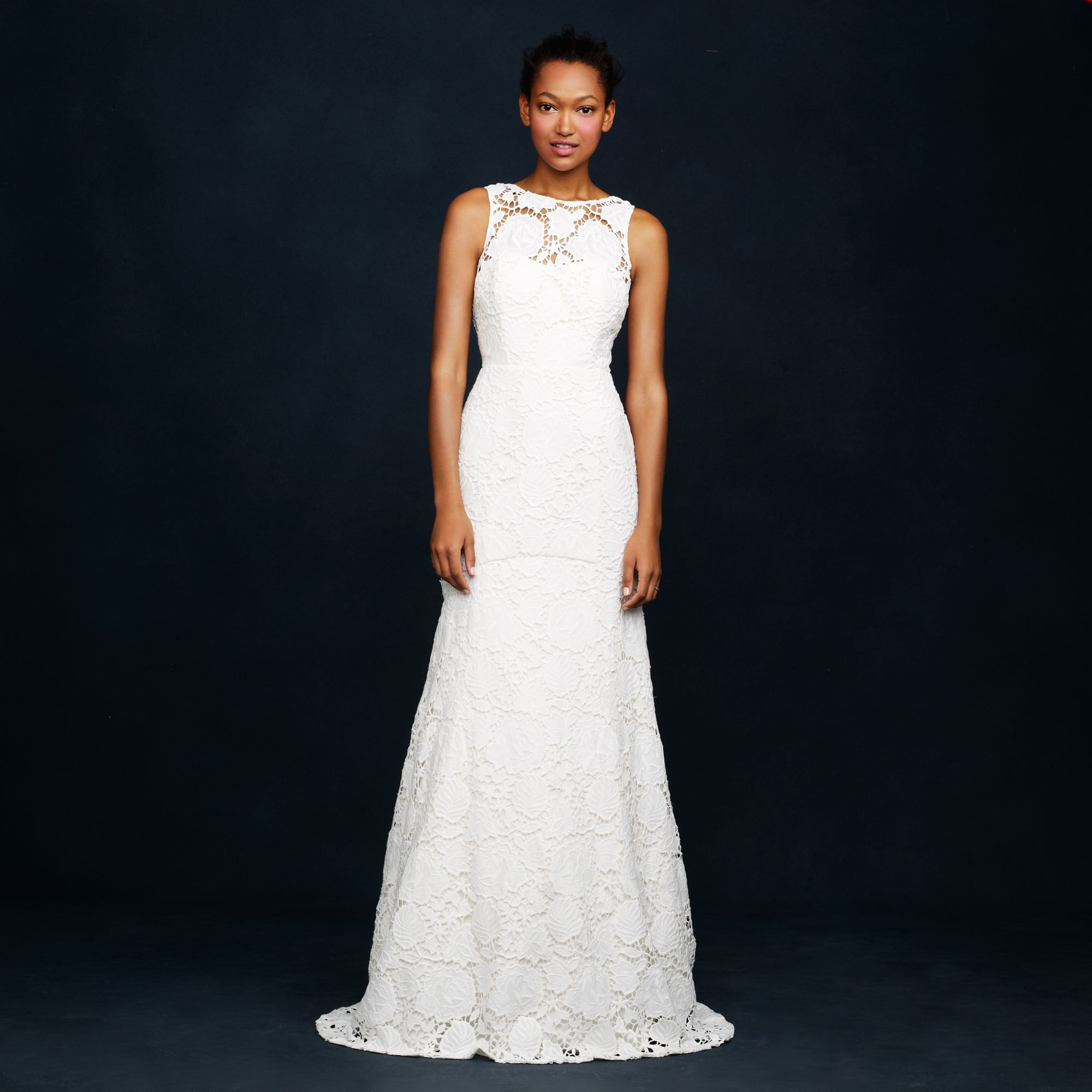 J.crew Heloise Gown In White (ivory)