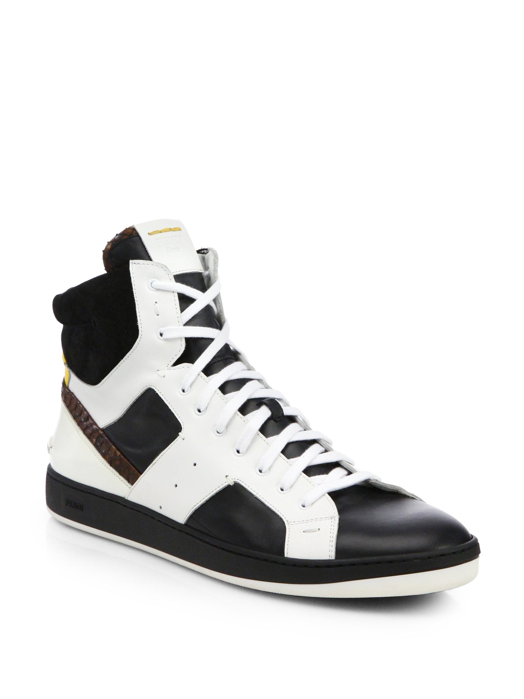16d62b5c6c00 Fendi Sneakers Black