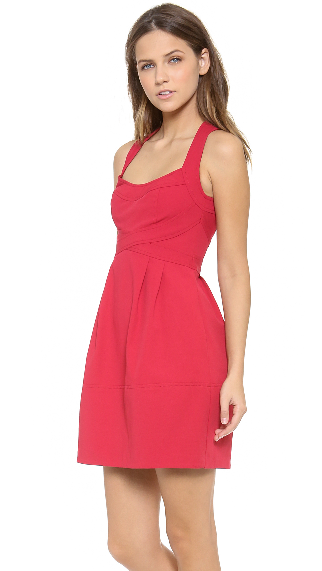 Nanette lepore Dress in Red | Lyst