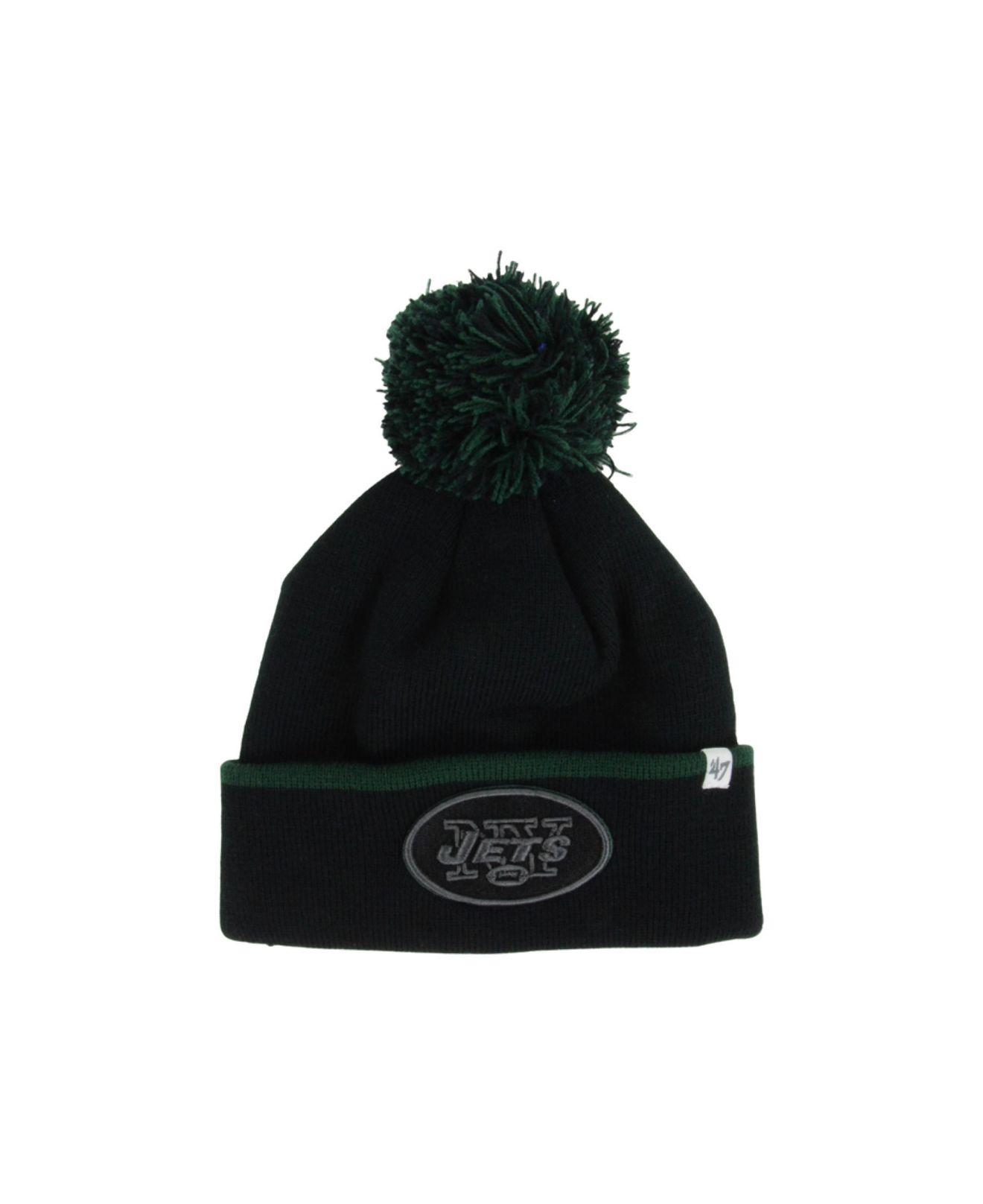 dd47ead737547 ... italy lyst 47 brand new york jets baraka knit hat in black for men  391cc 300f5