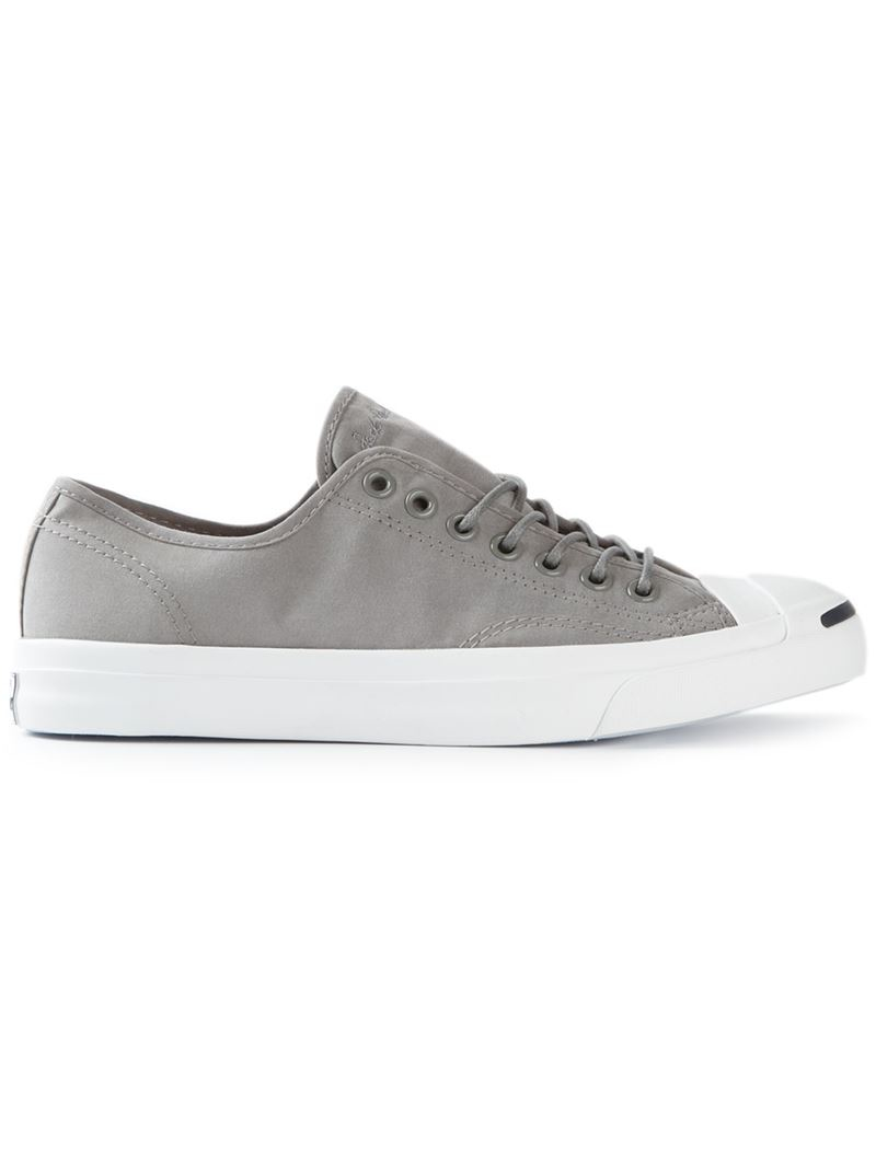 a62cb72f25f3 Lyst - Converse Jack Purcell Signature Sneakers in Gray for Men