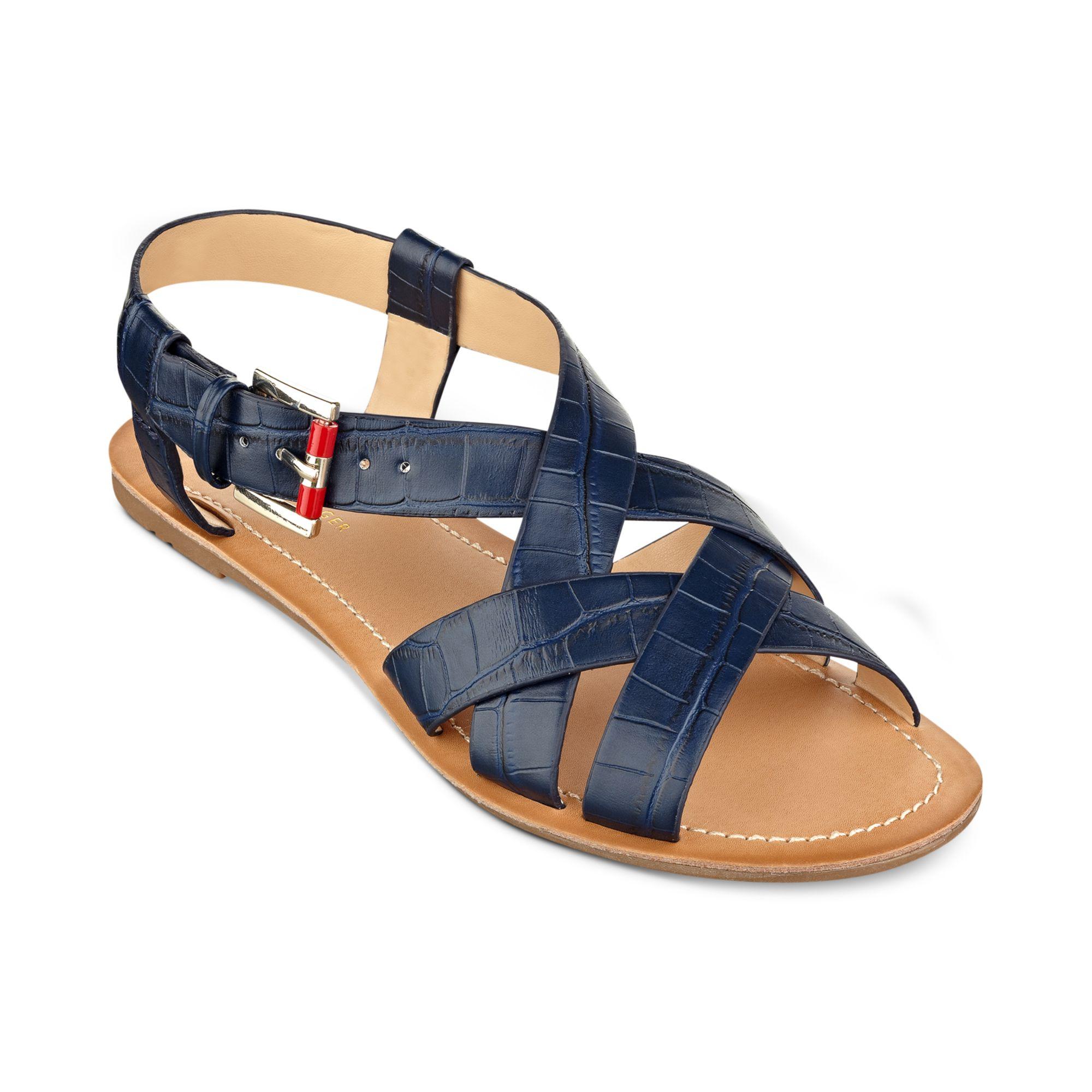 Tommy Hilfiger Flat Blue Shoes