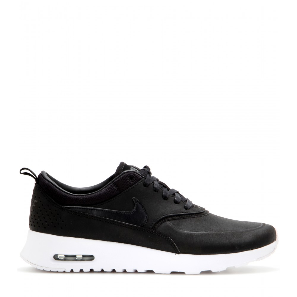 Max Jolie Sneakers Nike Lyst Thea Air Leather In Black dCQsthrx