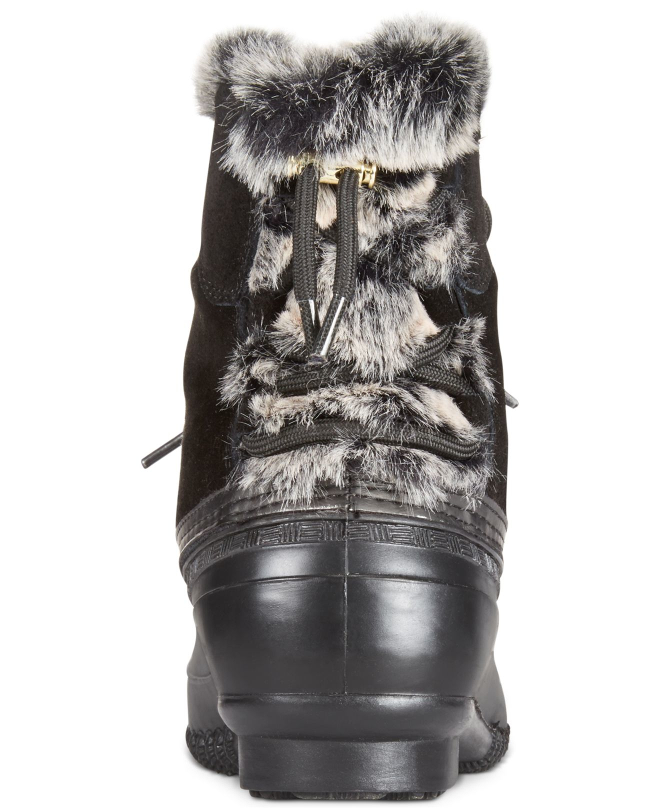 4c05f95f6804a2 Lyst - Tommy Hilfiger Rellenna Cold Weather Boots in Black