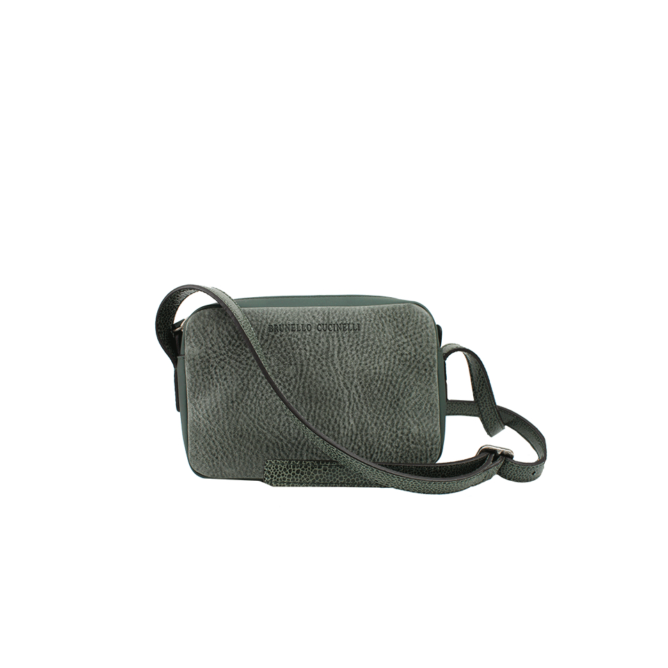 Gray Brunello Bag Mini Lyst Crossbody In Cucinelli d1f7dqwO