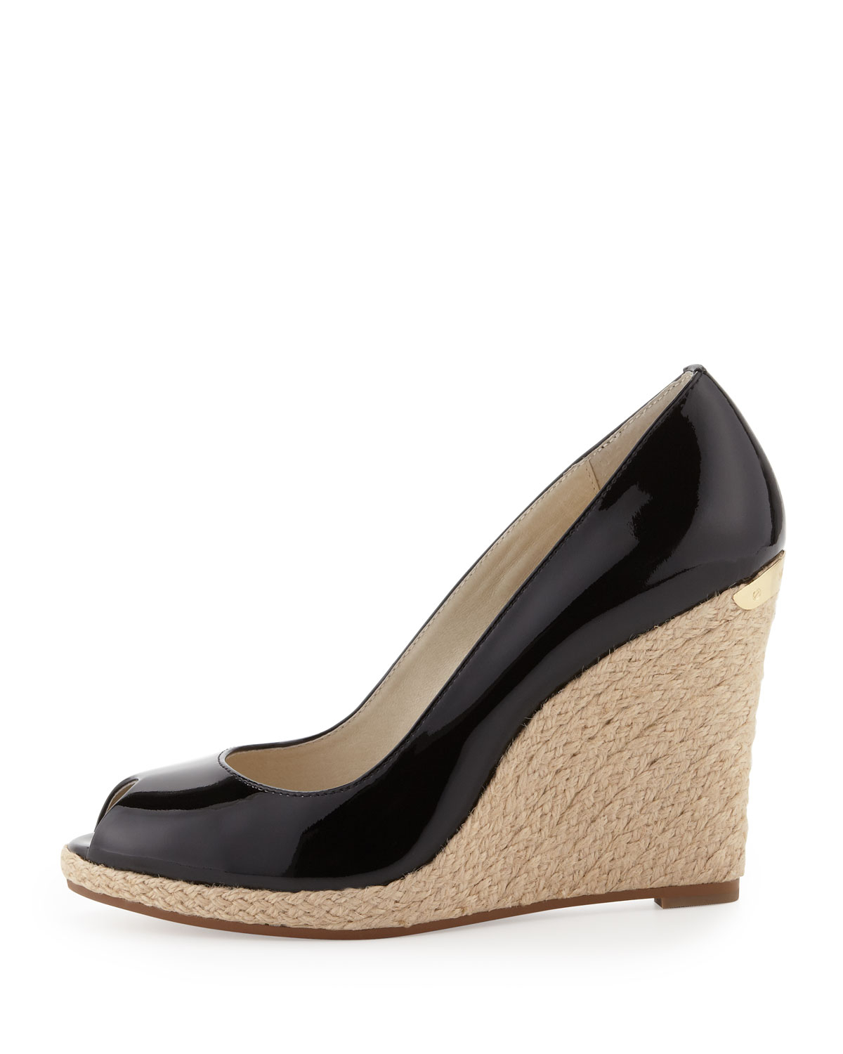 a4137ead63d Lyst - MICHAEL Michael Kors Keegan Wedge in Black