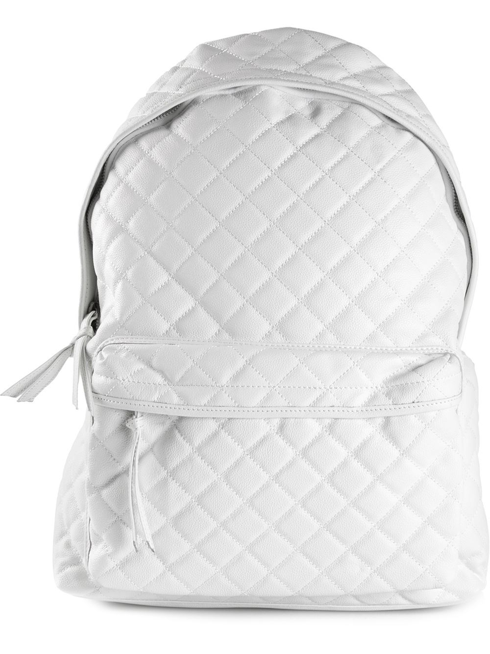 Lyst Stampd Quilted Backpack In White For Men