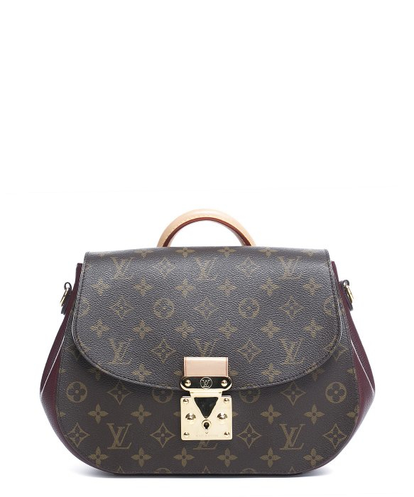 Louis Vuitton Trash Bags Gallery Louis Vuitton Pre Owned Monogram Canvas Bordeaux Eden Mm Bag In Brown