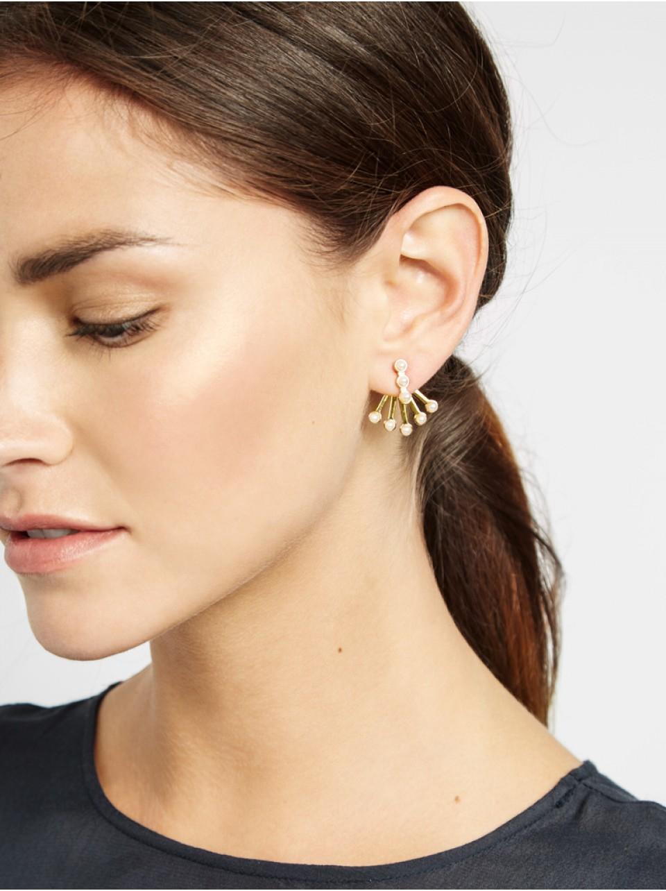 Gallery Women's Pearl Jewelry Women's Ear Jackets