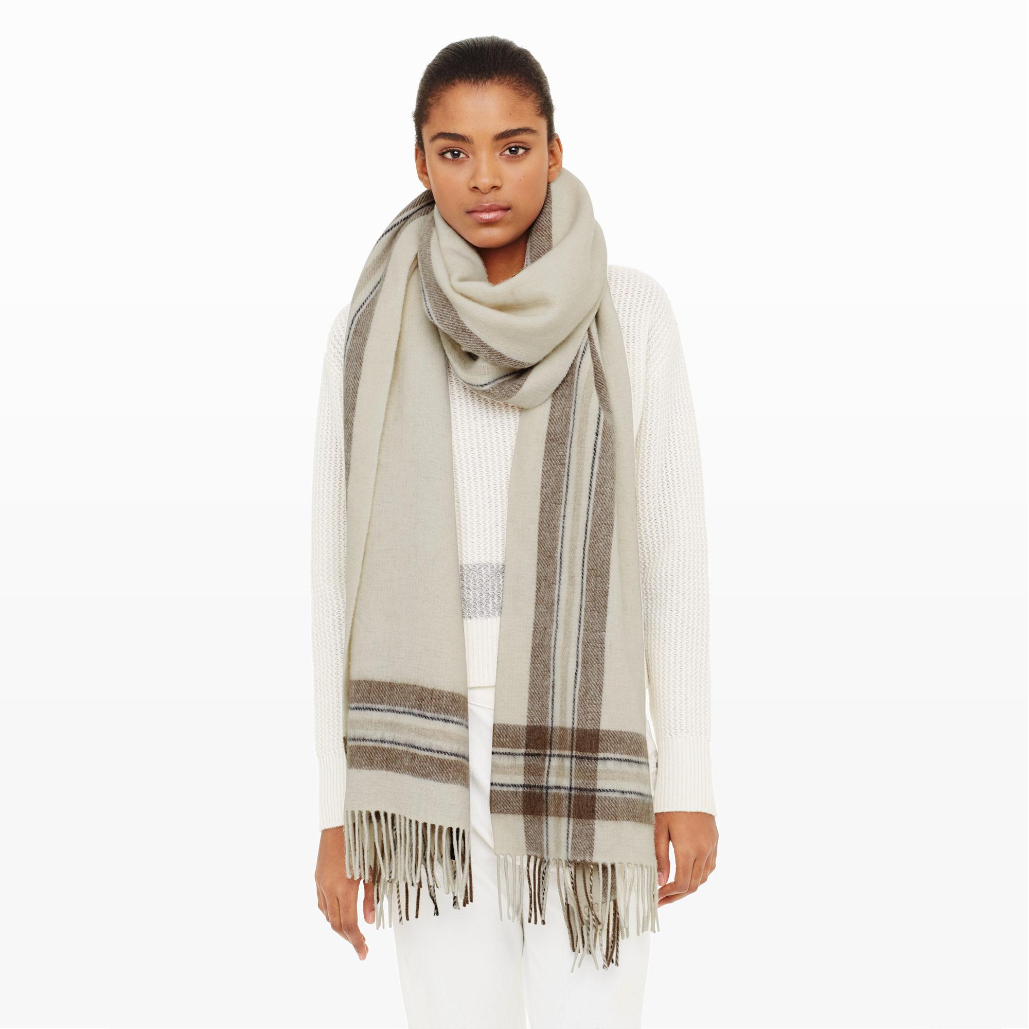club monaco alligra scarf in lyst