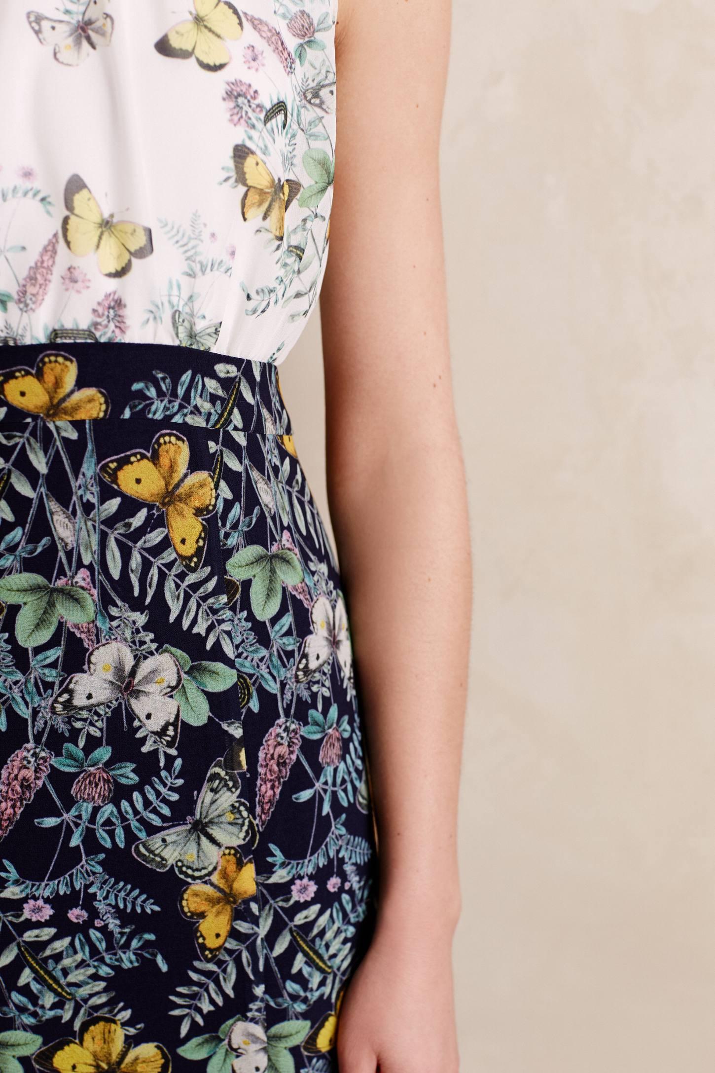 Erin Fetherston Erfly Garden Gown In Blue Lyst