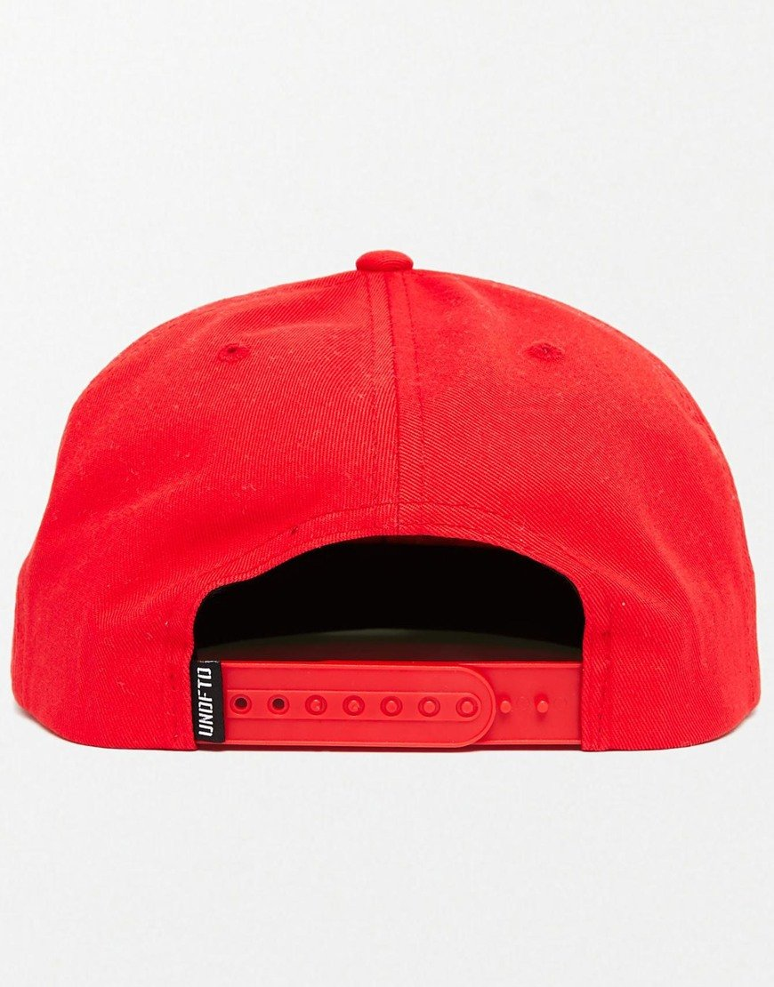 29541cfb Undefeated 5 Strike Snapback Cap in Red for Men - Lyst