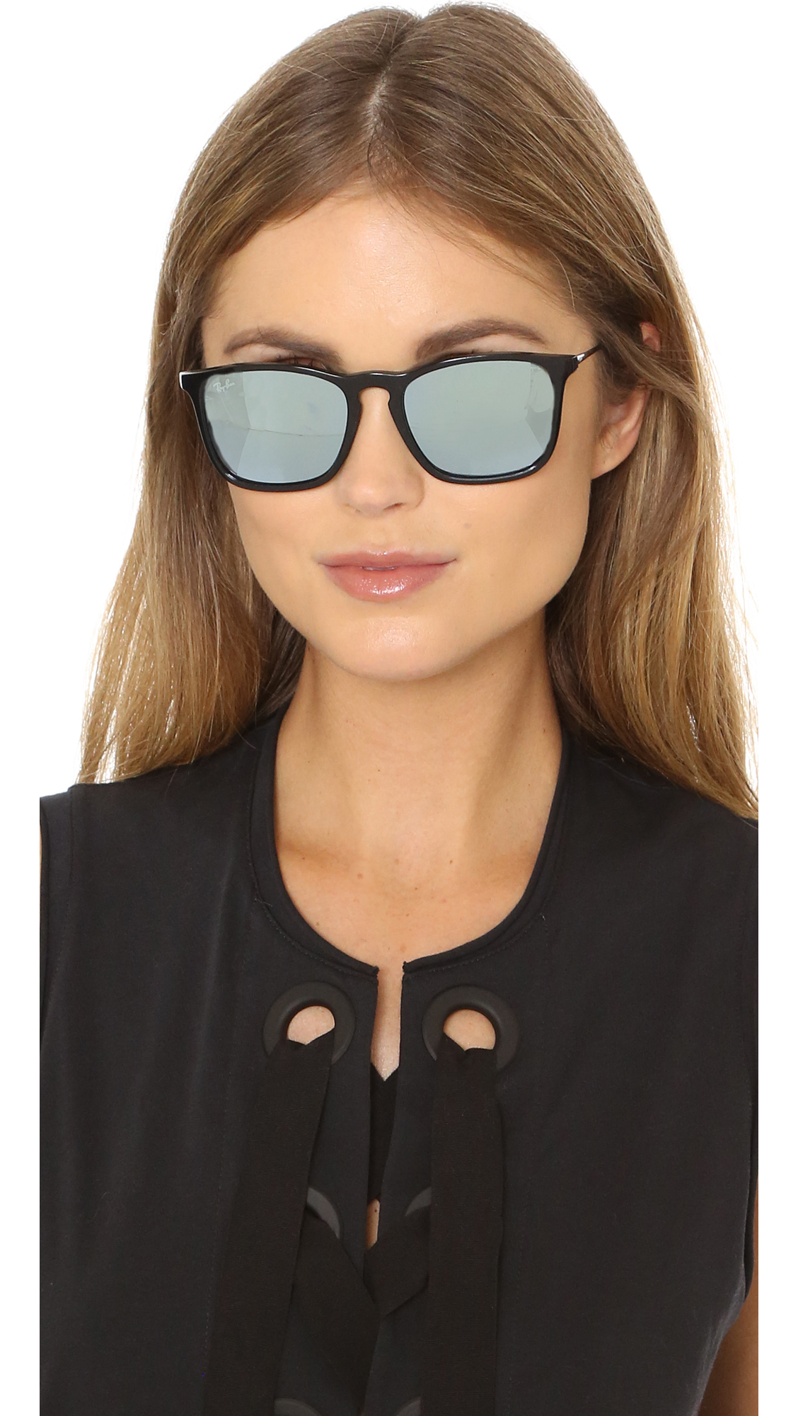 f306e2f1d6 Lyst - Ray-Ban Chris Sunglasses in Black