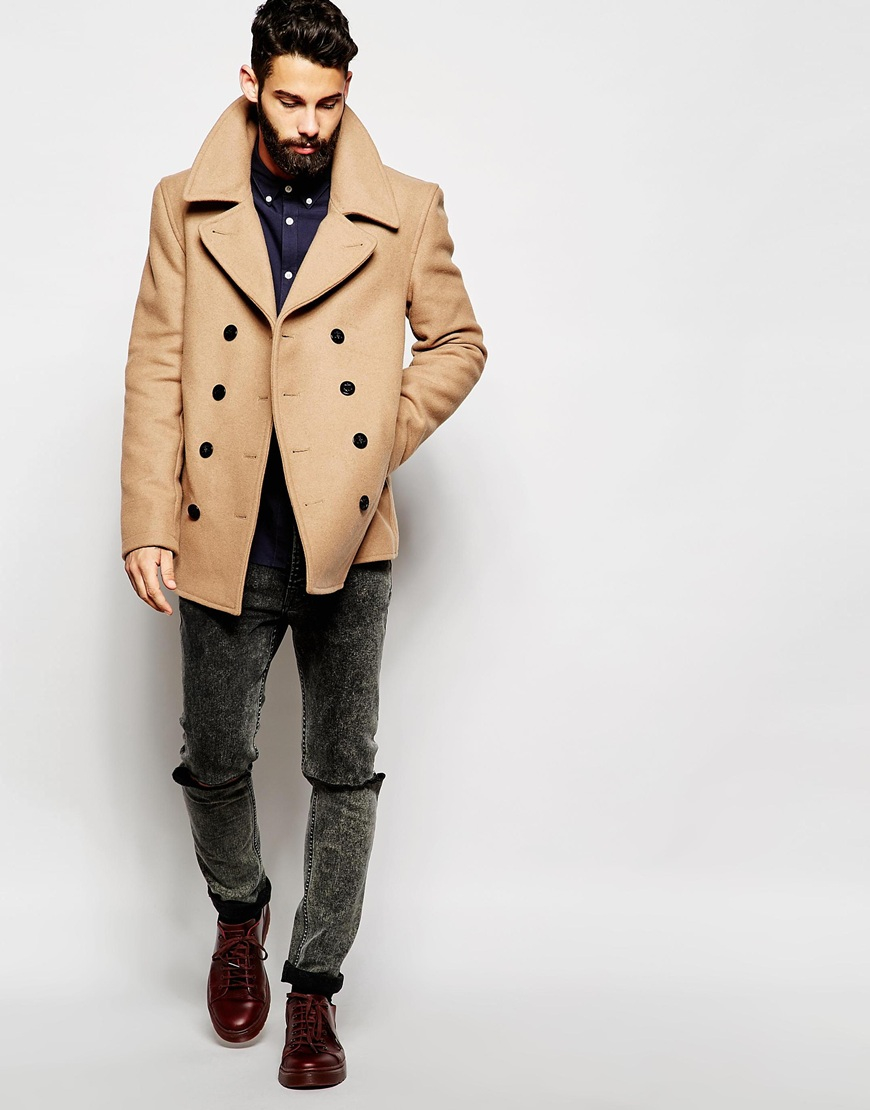 Brown Pea Coat Photo Album - Reikian