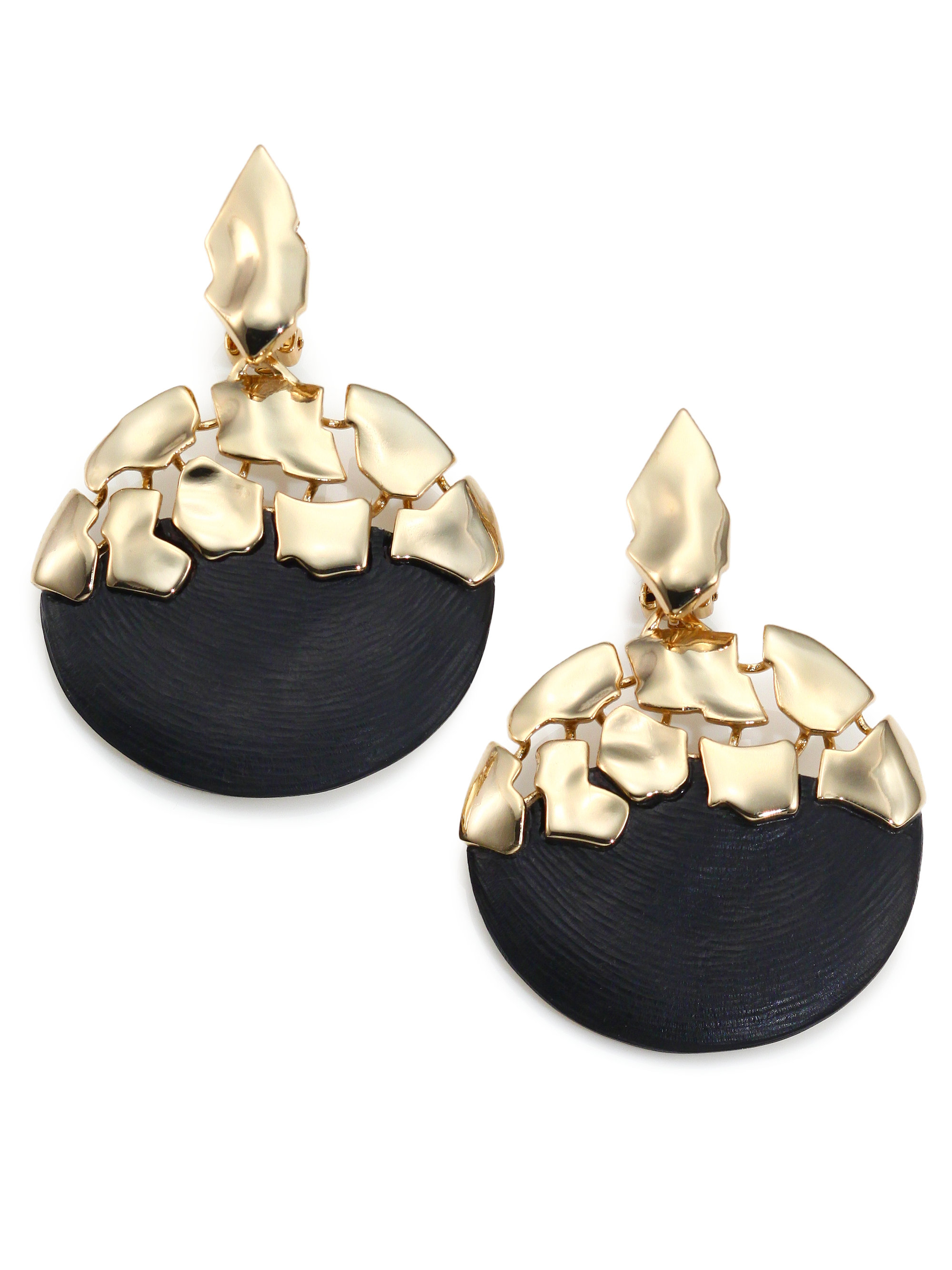 Lyst Alexis Bittar Lucite Shattered Sphere Dangling Drop