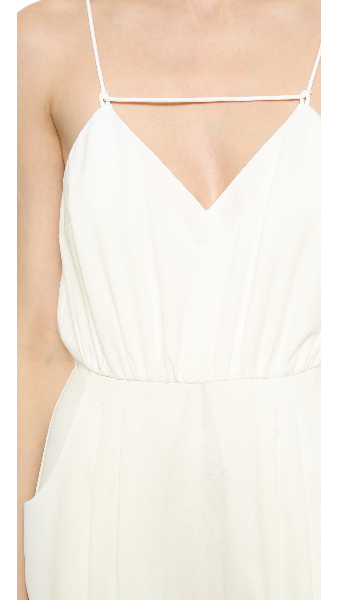 a923ab1b4ea3 Lyst - Finders Keepers The Someday Jumpsuit - White in White