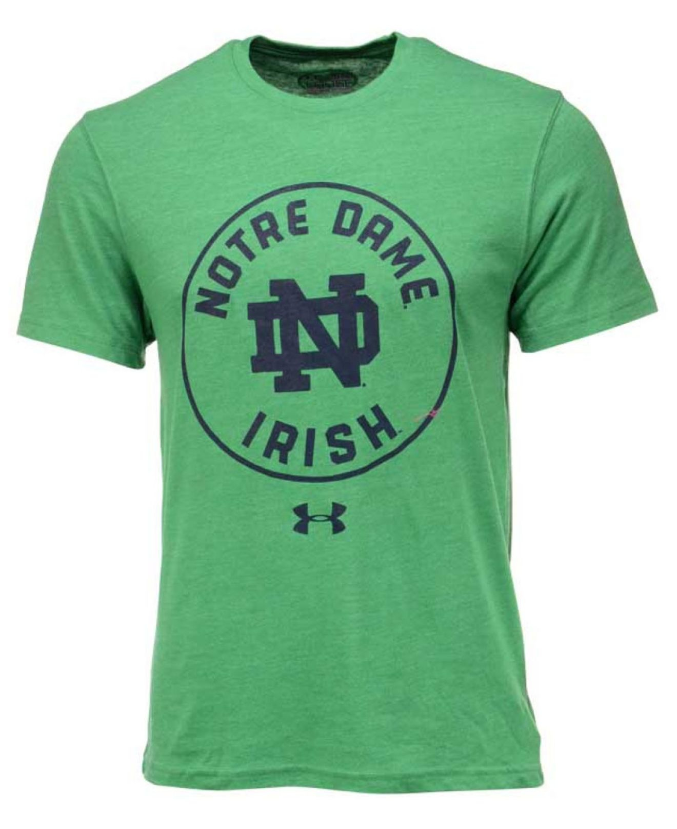 Under armour men 39 s notre dame fighting irish legacy t for Notre dame tee shirts