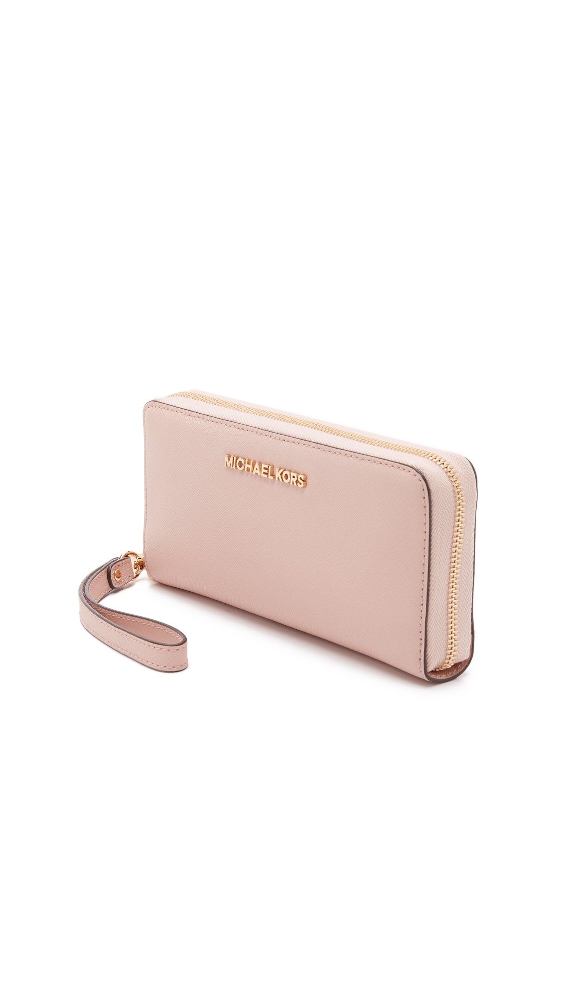 e4fcf7385c6e MICHAEL Michael Kors Jet Set Travel Continental Wallet - Ballet in Pink -  Lyst