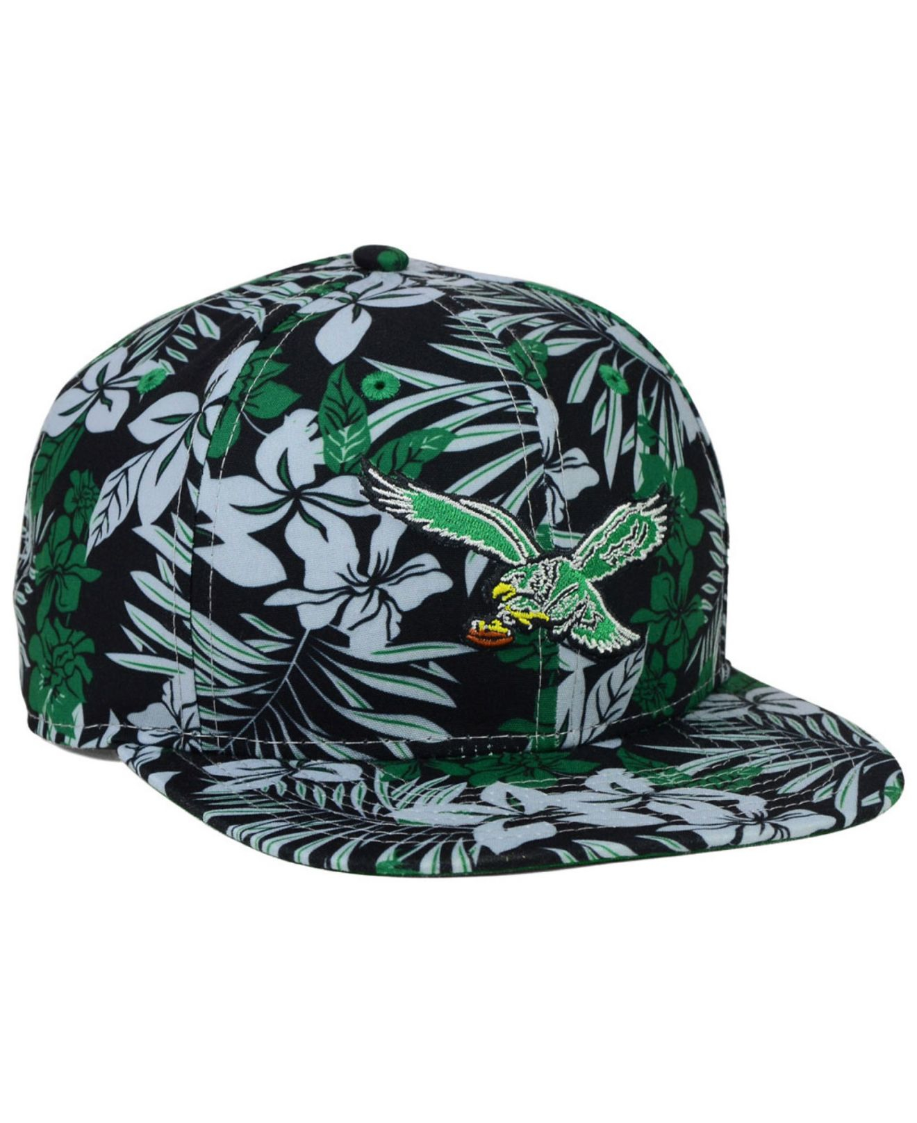 half off 7657f bf0b8 KTZ Philadelphia Eagles Wowie Snapback Cap in Green for Men - Lyst