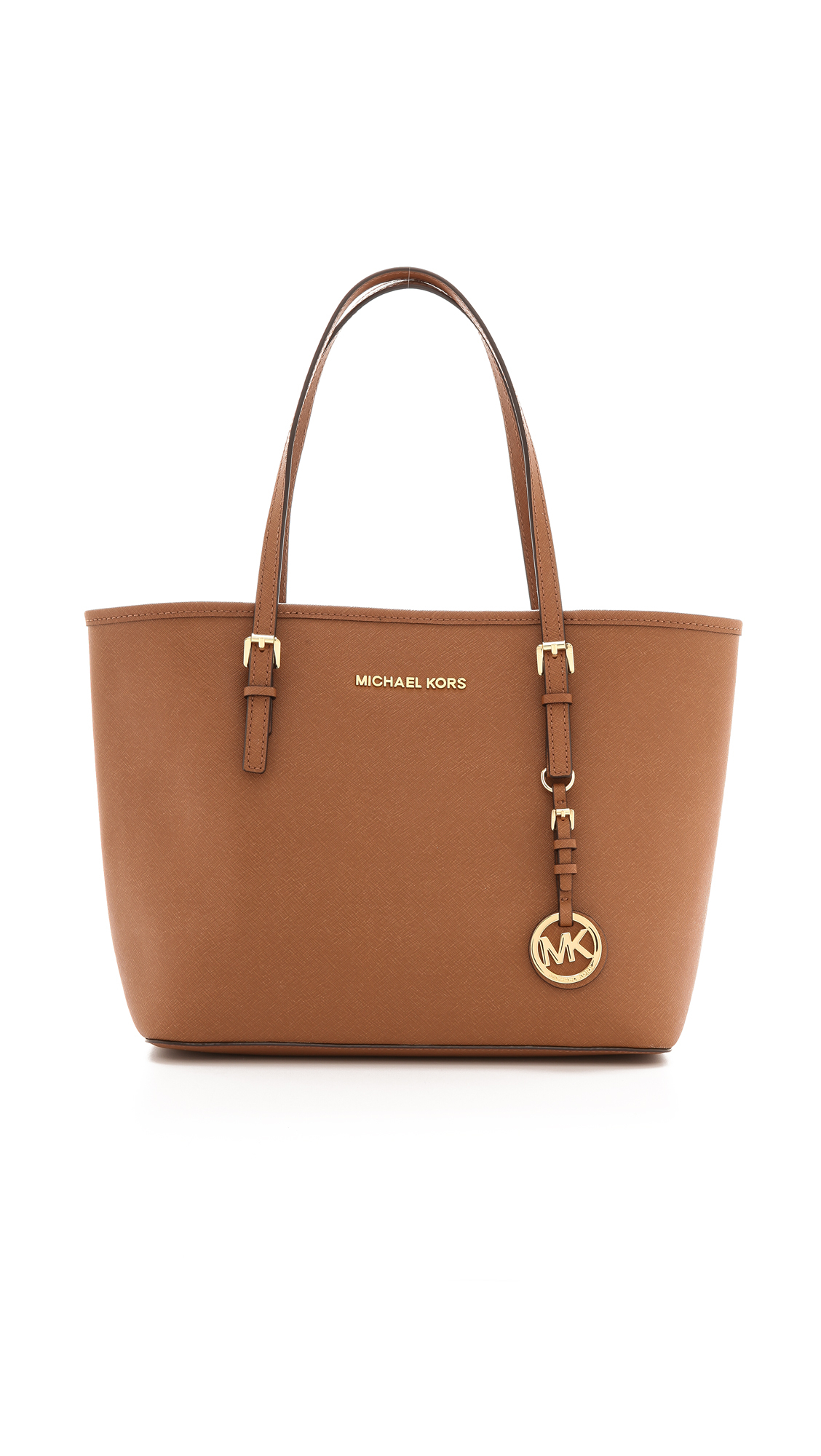 027083e7c595 MICHAEL Michael Kors Small Jet Set Travel Tote - Luggage in Brown - Lyst