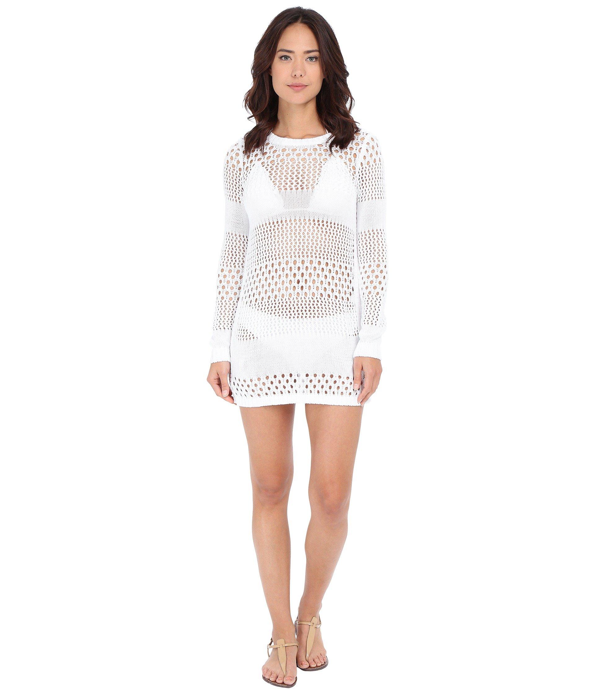 3fa715d3b5fb6 Tommy Bahama Beach Sweater Open Weave Variegated Sweater W/ Side ...