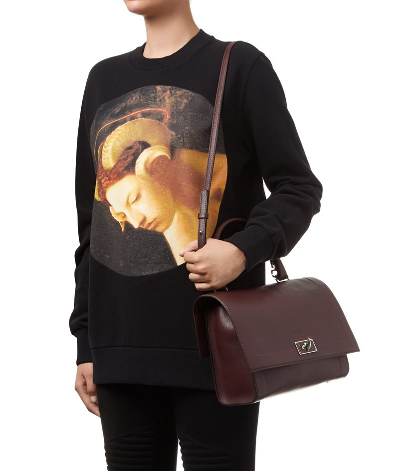 b341adb88ed Givenchy Small Grain Shark Bag in Red - Lyst