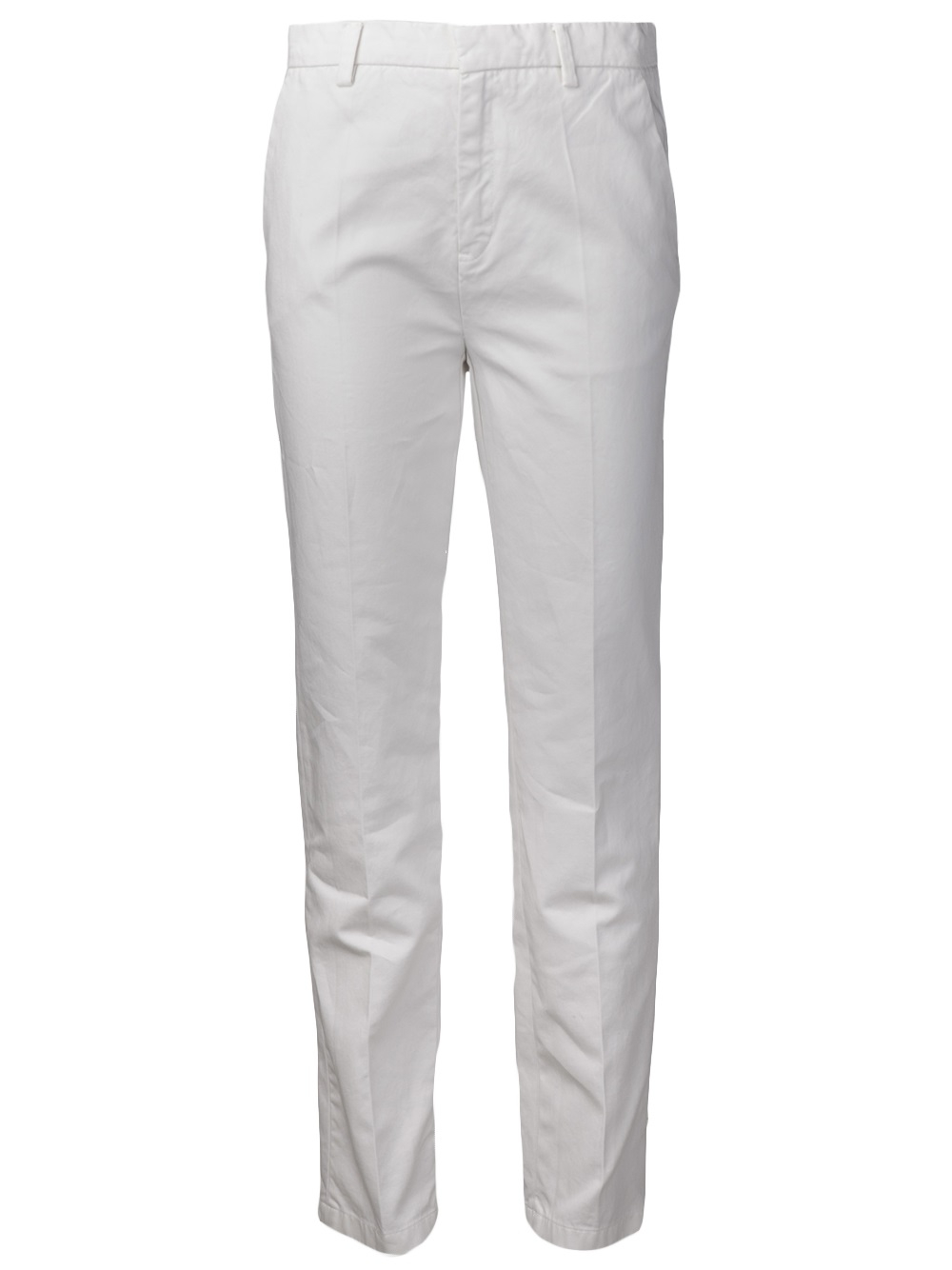 Sofie D Hoore Plug Fitted Cuff Trouser In White Lyst