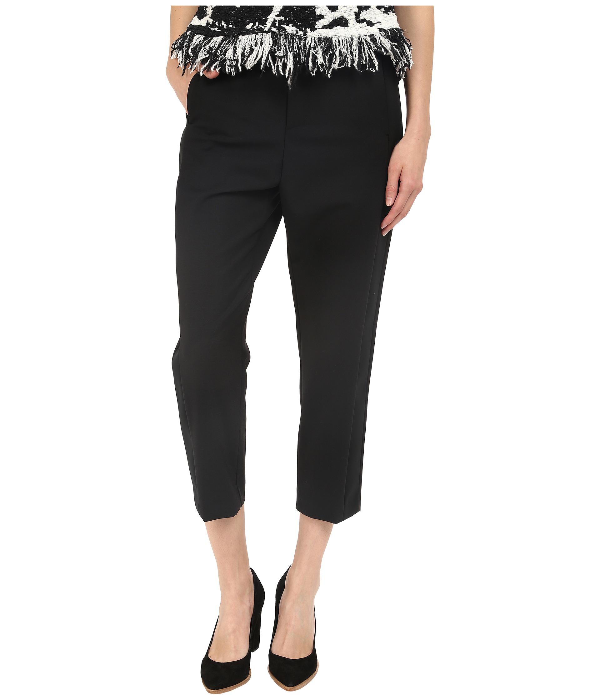 Lyst neil barrett slouch oversize tuxedo trousers in black for Neil barrett tuxedo shirt
