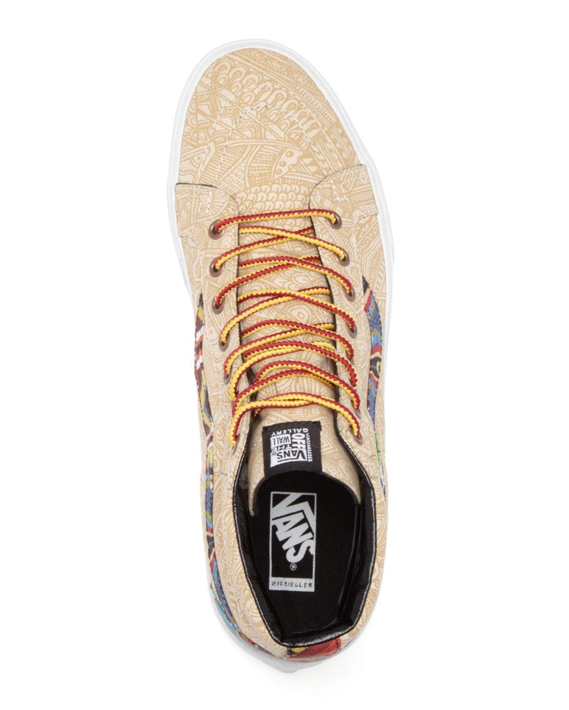 9717f84359188f Lyst - Vans Sk8 Hi Reissue Otw Gallery Zio Ziegler Sneakers in ...