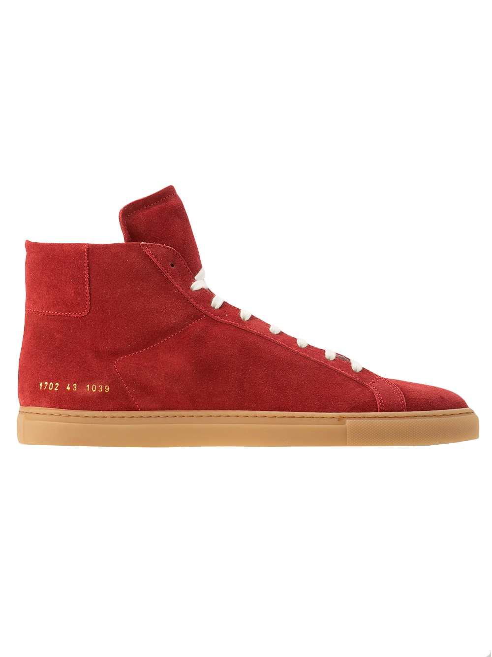 common projects achilles sue trainer in red for men lyst. Black Bedroom Furniture Sets. Home Design Ideas