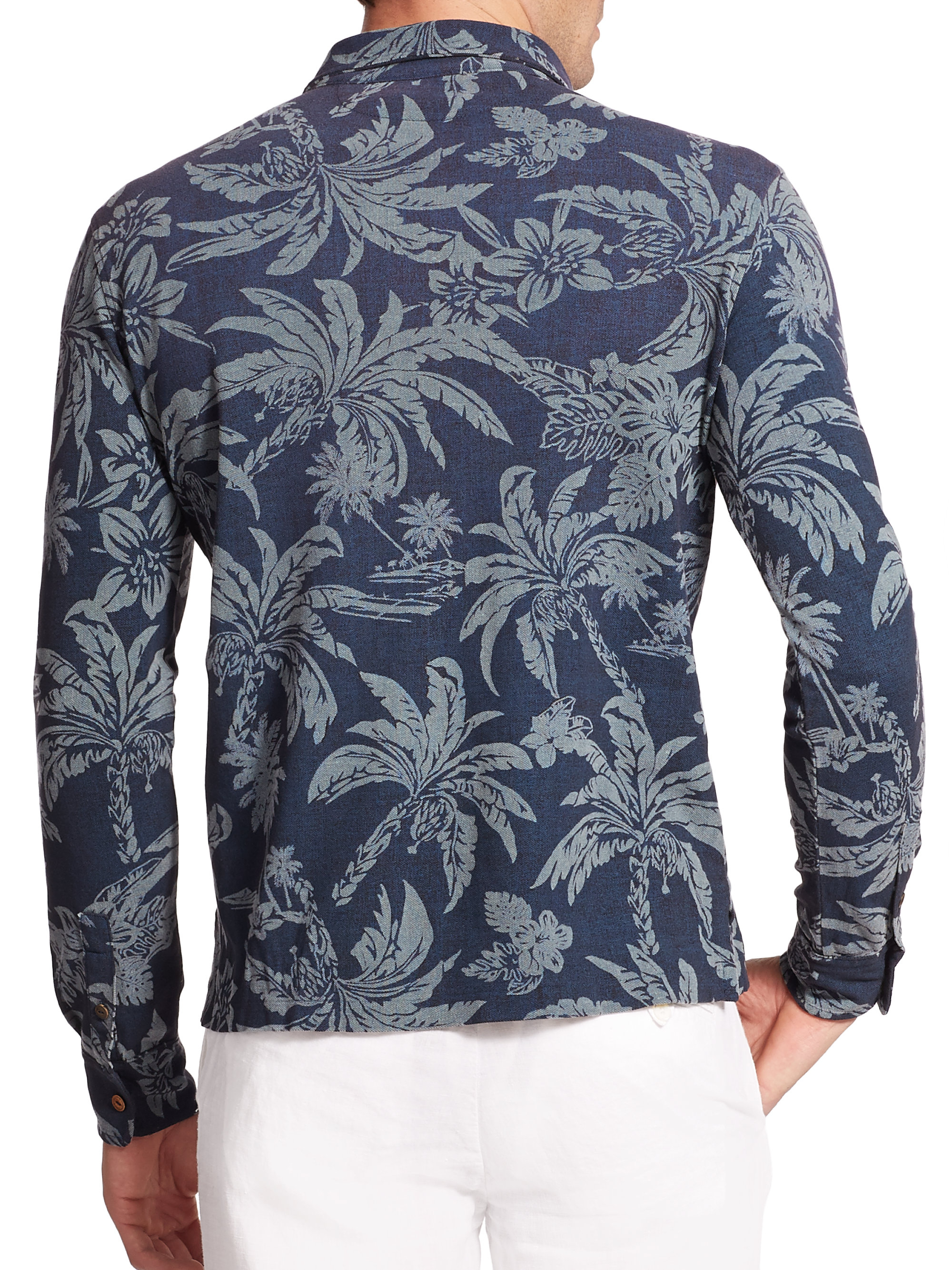 1b044494 ... blue for men ba663 2a51b; where can i buy lyst polo ralph lauren hawaiian  print mesh estate long sleeve polo 94121