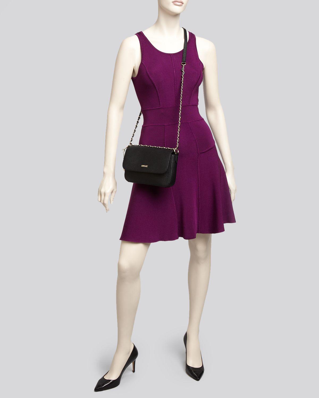 d8aa922d54b9 Tag Dkny Womens Bryant Park Small Flap Crossbody Bag Black — waldon ...