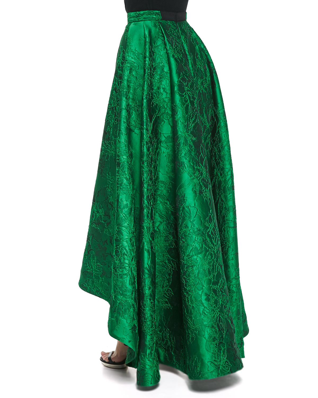 Long Green Skirt 96